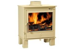 Malvern Defra Approved 5kw M/f Stove Buttermilk
