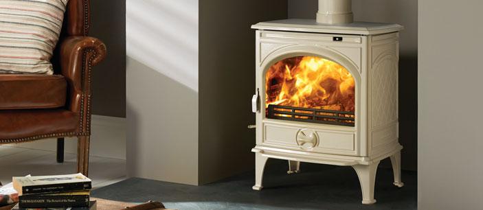 Dovre 250 Mfr Ivory White Riddling Grate Harworth Heating