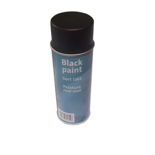 Jotul Matt Black 400ml Heat Resistant Stove Paint Spray Can