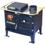 Solid fuel back cabin cooker