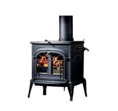 Vermont Intrepid II Catalytic Wood Stove In Classic Black 0001990-I