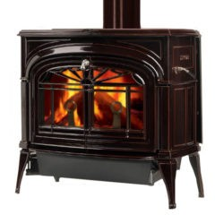 Vermont Encore Two-in-one Wood Majolica Brown Stove