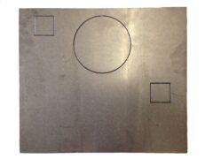 Rear Heat Shield - Savoy Mk 2 Wood & M/f