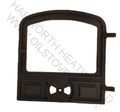 Corner/4b Etc Solid Fuel Door - Black