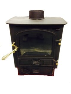 Bubble 4b Multi Fuel Stove Matt Black