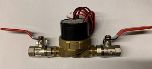 Jabsco 12v Dc Water Circulating Htg Pump 1/2 Inch