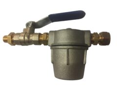 "1/4"" X 10mm Oil Line Fitting Kit (exc Fire Valve)"
