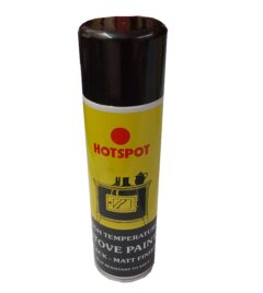 Hotspot Matt Black High Temp Paint 450ml Aerosol