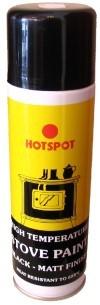 Hotspot Matt Black High Temp Paint 250ml Aerosol