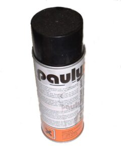 Matt Black High Temp Paint 400ml Aerosol Pauly