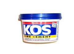 Fire Cement 500g Black (kos) Tub
