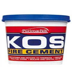 Fire Cement500g Black (kos) Tub