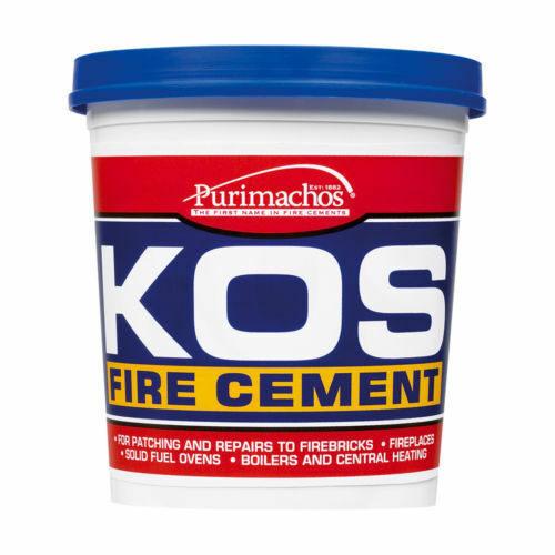 Fire Cement 1kg Black (kos)