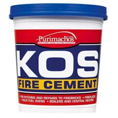 Fire Cement 2kg Black (kos) Tub