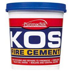 Fire Cement 2kg Black (kos) Tub