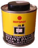 Hotspot Black Stove Paint 200ml Tin