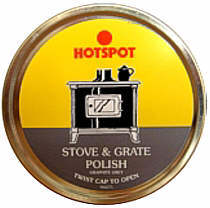 Hotspot Black Stove & Grate Polish 170g Tin