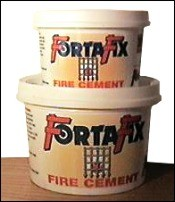 Hotspot Fortafix Black Fire Cement 1 Kg