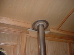 Deck Flange Kit 88mm (for Trad Chimney)