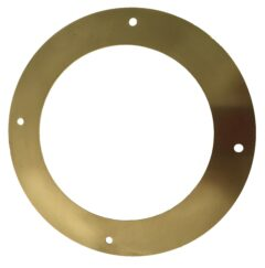 Bubble Ceiling Ring For 88.9 & 100mm Flue Pipe- Brass
