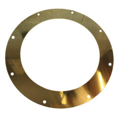 "Bubble Mk3/4 Ceiling Ring For 4/5 Twin Wall "" Brass"""