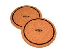 Aga Top Plate Cork Mat (pack Of Two) W2255