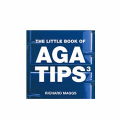 Aga Little Book Of Aga Tips 3 Blue W1985