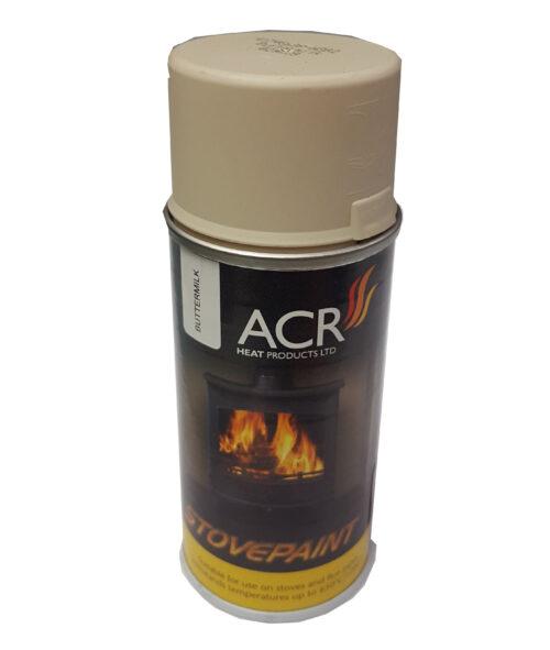 Acr Steel Stove Paint Buttermilk 150ml