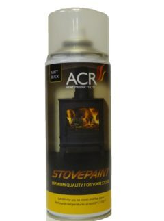 Acr Steel Stove Paint Cranberry Blush 400ml