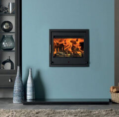 ACR TENBURY T550 5KW SMOKE EXEMPT MULTIFUEL STOVE INSERT MATT BLACK