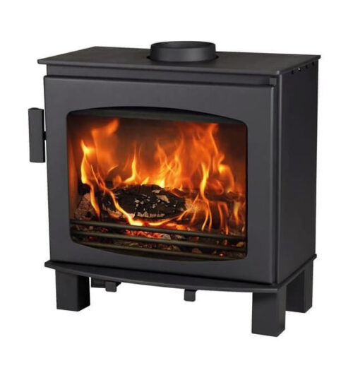 Acr Wychwood Wood Stove  Matt Black