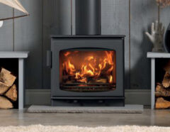 ACR WINCHWOOD WOOD STOVE  STERLING GREY