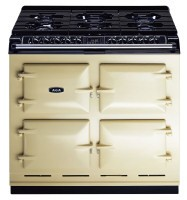 AGA 6:4 SERIES ELEC OVEN NG HOB COOKER IN CREAM