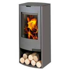 Aga Hadley Smoke Exempt Graphite Wood Stove