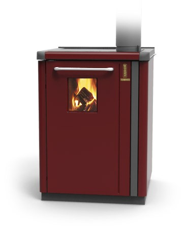 Thermorossi bosky 30 boiler in red with vitrified boiler for Thermorossi bosky