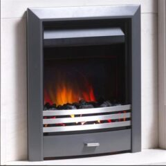 SHEARSBY WITH HARMONY TRIM GUNMETAL ELECTRIC INSET FIRE