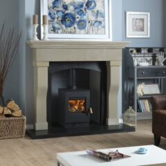 BURLEY LAUNDE 9304 WOOD BURNING 4KW STOVE