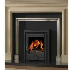 COUGAR INSET 5 Cast Iron Multifuel Stove Matt Black