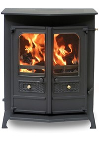 CHARNWOOD COUNTRY 16BMF MATT BLACK BOILER STOVE