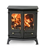 CHARNWOOD COUNTRY 8 MATT BLACK + MF KIT