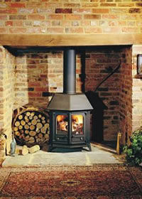 Charnwood Country 12 M/f (new Type) Stove Black