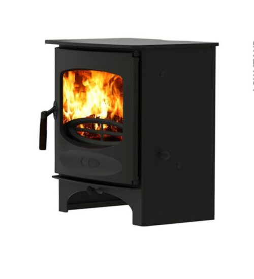 Charnwood C Five Wood Matt Black Stove