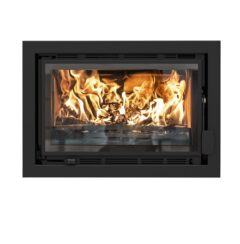 Charnwood Bay Vl Insert Gloss Black