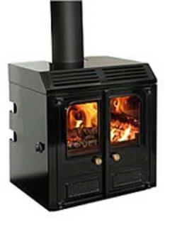 CHARNWOOD LA45IB  M/F INSET MATT BLACK FIRE