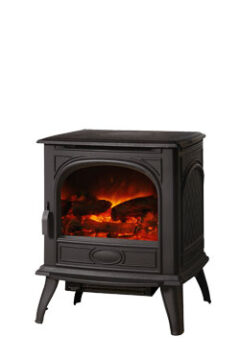 Dovre 280 - Matt Black Electric Stove Dv-280e