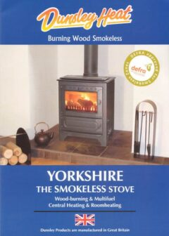 DUNSLEY YORKSHIRE STOVE M/F C/H BRASS HANDLES