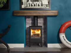 Esse 550 5kw S/e Wood Stove Matt Black