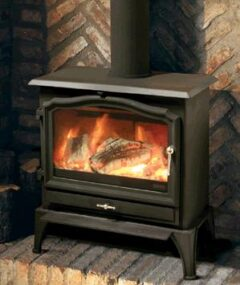 ESSE 100 SE SMOKE EXEMPT 5 KW STOVE WITH RIDDLING GRATE AND BLACK HANDLE