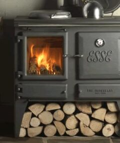 Esse Domestic Hot Water Wood Cookstove
