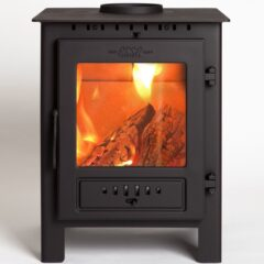 ESSE 1 Matt Black 5kw Smoke Exempt Wood Burning Stove